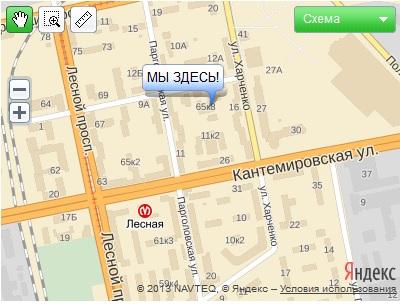"""Карта. Экспоцентр """"Евразия"""""""