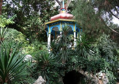 Никитский ботанический сад - домик Мальвины