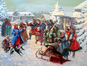 Русское Рождество, традиции